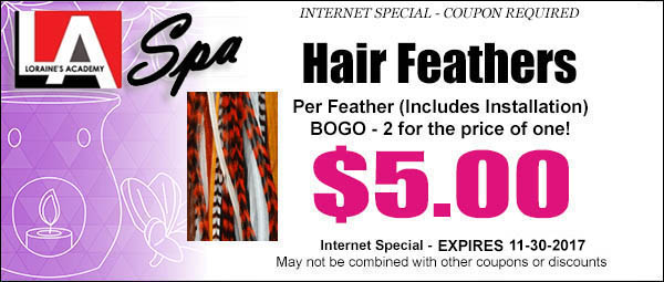 Hair Feathers Coupon