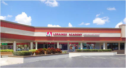 Loraines Academy Front of School